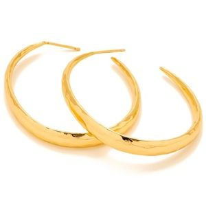Gorjana Nora Gold Hoop Earrings